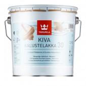 Tikkurila Кива, лак для мебели - Kiva 2,7л полумат