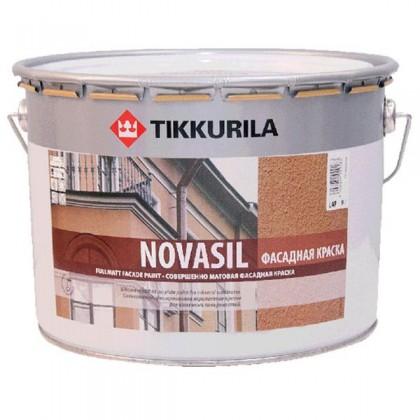Tikkurila Новасил - Novasil Водоэмульсионная силикономодифицированная краска на акрилатной основе.