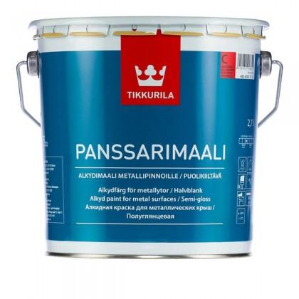 Tikkurila Панссаримаали - Panssarimaali база С. Алкидная краска, содержащая активный противокоррозионный пигмент.