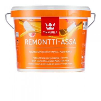 Tikkurila Ремонтти-Ясся - Remontti Assa белая база, 0.9 л.