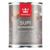 Защитный восковой состав Tikkurila Supi Saunavaha (Супи Саунаваха)