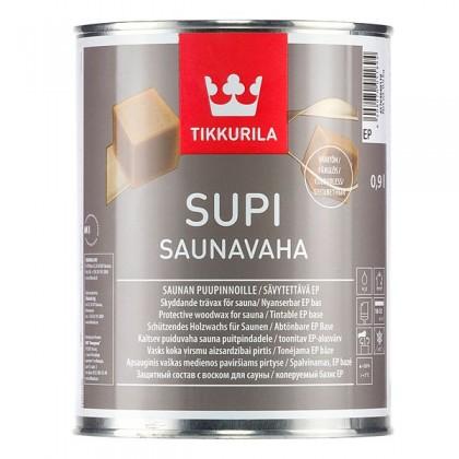 Tikkurila Супи Саунаваха - Supi Saunavaha. Защитный состав, содержащий натуральный воск