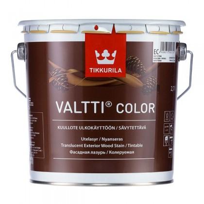 Tikkurila Валтти Колор - Valtti Color фасадная лазурь по дереву для наружных работ.