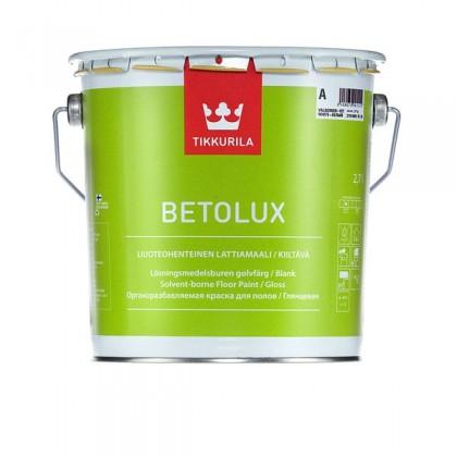 Краска для полов Tikkurila Betolux (Бетолюкс)