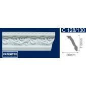 Потолочный плинтус (карниз, багет) инжекционный Solid (Солид) C128/130 200*80*110