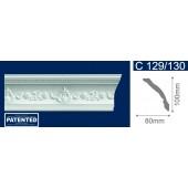 Потолочный плинтус (карниз, багет) инжекционный Solid (Солид) C129/130 200*80*100