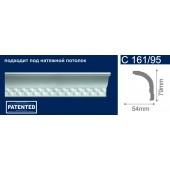 Потолочный плинтус (карниз, багет) инжекционный Solid (Солид) C161/95 200*54*79