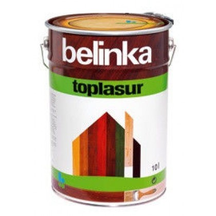 Belinka Toplasur (Белинка Топ Лазурь) - декоративно защитная пропитка для дерева