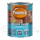 Pinotex Lacker Sauna (Пинотекс) термостойкий лак для бани и сауны