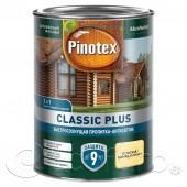 Pinotex Classic Plus (Пинотекс Классик Плюс) пропитка-антисептик 3 в 1 0,9 л