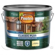 Pinotex Classic Plus (Пинотекс Классик Плюс) пропитка-антисептик 3 в 1 9 л