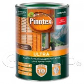 Пинотекс Ультра (Pinotex Ultra) декоративная пропитка для дерева.