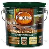Пинотекс масло для террас (Pinotex Wood Terrace Oil) 2,7 л – террасное масло с добавлением воска