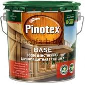 Pinotex Base (Пинотекс База) 2,7 л - бесцветная деревозащитная грунтовка.