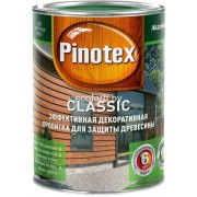 Пинотекс Классик (Pinotex Classic)  - защитно-декоративная пропитка для древесины 1л