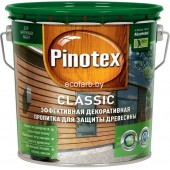 Пинотекс Классик (Pinotex Classic)  - защитно-декоративная пропитка для древесины 2.7л
