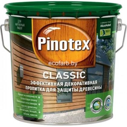 Пинотекс Классик (Pinotex Classic) 2.7 л.  - эффективная защитно-декоративная пропитка для древесины.