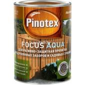Пинотекс фокус Аква (Pinotex Focus Aqua) – защитно-декоративная пропитка для древесины