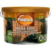 Пинотекс Фокус Аква (Pinotex Focus Aqua) 2,5 л – защитно-декоративная пропитка для древесины