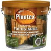 Пинотекс Фокус Аква (Pinotex Focus Aqua) 5,0 л – защитно-декоративная пропитка для древесины