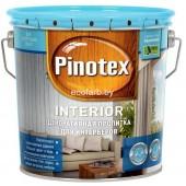Pinotex Interior (Пинотекс Интериор) 2,7 л – декоративный состав для древесины для интерьеров