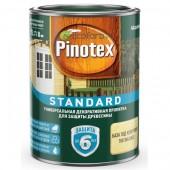 Пинотекс стандарт (Pinotex Standard) 0,9 л универсальная декоративная пропитка для защиты древесины