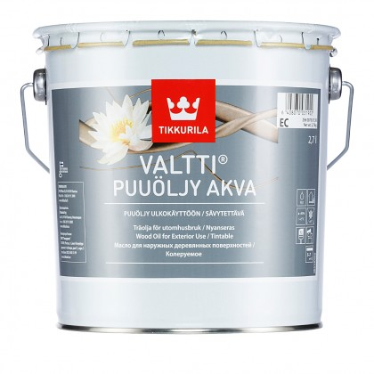 Tikkurila Valtti Akva 2.7 л - масло для дерева