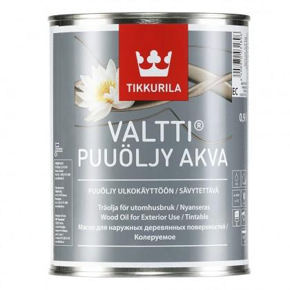 Tikkurila Valtti Akva 0.9 л - масло для дерева