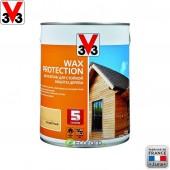 V33 (В33) Антисептик для стойкой защиты древесины Wax Protection 2,5 л Бесцветный