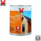 V33 (В33) Антисептик для стойкой защиты древесины Wax Protection 2,5 л Золотой Дуб