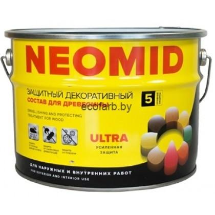 NEOMID BIO COLOR ULTRA (Неомид био колор ультра). Защитный декоративный состав для древесины